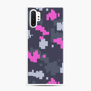 Csgo Pink Ddpat Camo Samsung Galaxy Note 10 Plus Case, White Rubber Case