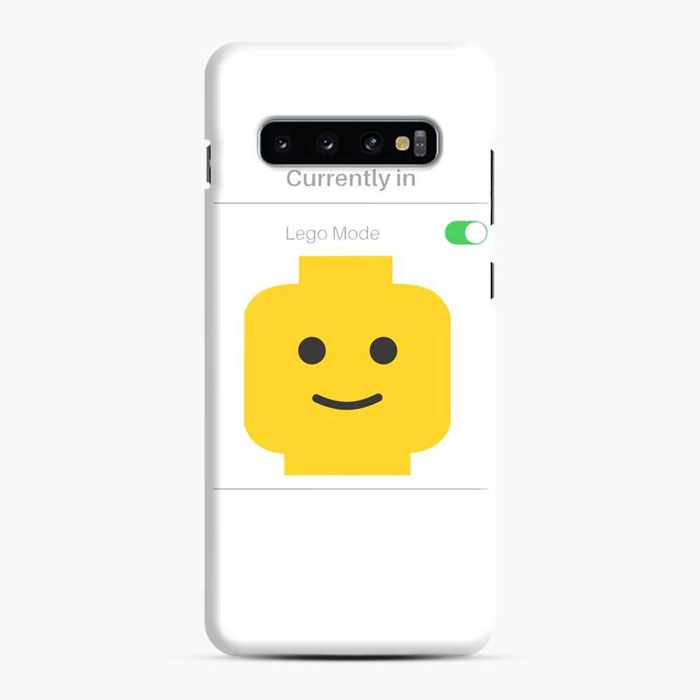 Currently In Lego Mode Samsung Galaxy S10 Case, Snap Case