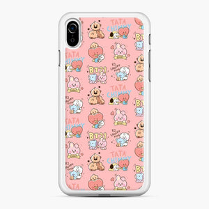 Cute All Bt Baby Tata Chimmy Shooky iPhone XR Case
