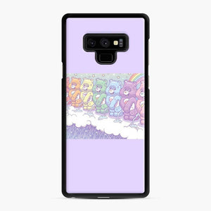 Cute Care Bears 1 Samsung Galaxy Note 9 Case, Black Rubber Case