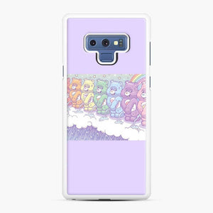 Cute Care Bears 1 Samsung Galaxy Note 9 Case, White Rubber Case