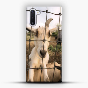 Cute Goat Pictures Samsung Galaxy Note 10 Case, Snap Case | Webluence.com