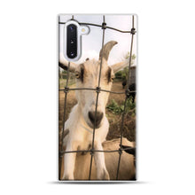 Load image into Gallery viewer, Cute Goat Pictures Samsung Galaxy Note 10 Case, White Plastic Case | Webluence.com