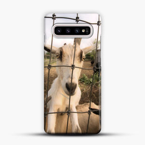 Cute Goat Pictures Samsung Galaxy S10 Plus Case, Snap Case | Webluence.com