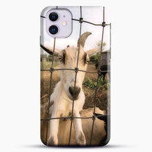 Load image into Gallery viewer, Cute Goat Pictures iPhone 11 Case.jpg, Snap Case | Webluence.com