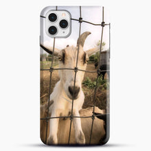 Load image into Gallery viewer, Cute Goat Pictures iPhone 11 Pro Case, Snap Case | Webluence.com