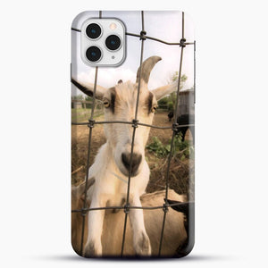Cute Goat Pictures iPhone 11 Pro Case, Snap Case | Webluence.com