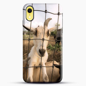 Cute Goat Pictures iPhone XR Case, Snap Case | Webluence.com