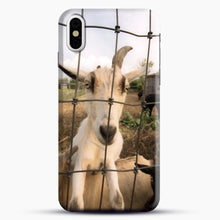 Load image into Gallery viewer, Cute Goat Pictures iPhone X/XS Case, Snap Case | Webluence.com