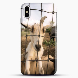 Cute Goat Pictures iPhone X/XS Case, Snap Case | Webluence.com