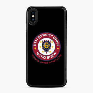 Cyberpunk 6Th Street Gang Coffee Starbucks Clean Ver iPhone XS Max Case, Black Plastic Case