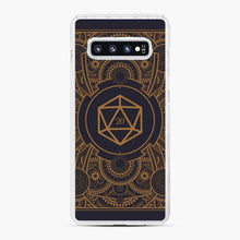 Load image into Gallery viewer, D20 Dice Steampunk Mech Dungeons And Dragons Samsung Galaxy S10 Plus Case