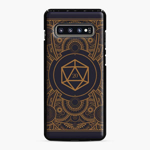 D20 Dice Steampunk Mech Dungeons And Dragons Samsung Galaxy S10 Plus Case