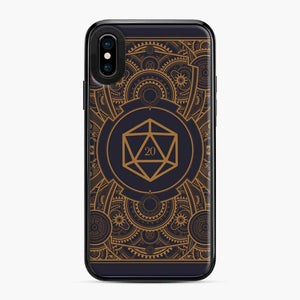 D20 Dice Steampunk Mech Dungeons And Dragons iPhone X/XS Case
