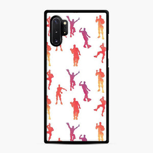 Dance Fortnite Samsung Galaxy Note 10 Plus Case, Black Rubber Case