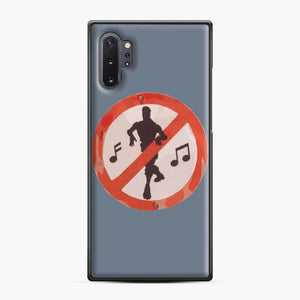Dance Sign Fortnite Samsung Galaxy Note 10 Plus Case, Black Plastic Case