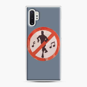 Dance Sign Fortnite Samsung Galaxy Note 10 Plus Case, White Plastic Case