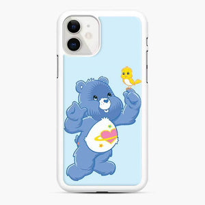 Daydream Bear Care Bear iPhone 11 Case, White Rubber Case