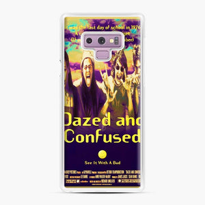 Dazed And Confused Samsung Galaxy Note 9 Case, White Plastic Case