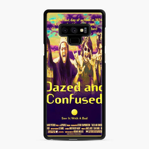 Dazed And Confused Samsung Galaxy Note 9 Case, Black Rubber Case