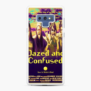 Dazed And Confused Samsung Galaxy Note 9 Case, White Rubber Case