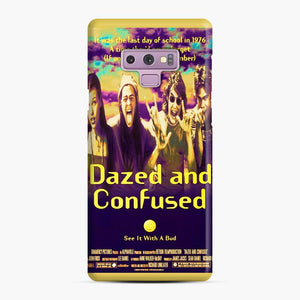 Dazed And Confused Samsung Galaxy Note 9 Case, Snap Case