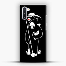 Load image into Gallery viewer, Death Is A Cat Person Samsung Galaxy Note 10 Case, Snap Case | Webluence.com