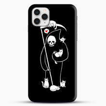Load image into Gallery viewer, Death Is A Cat Person iPhone 11 Pro Case, Snap Case | Webluence.com