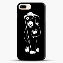 Load image into Gallery viewer, Death Is A Cat Person iPhone 7 Plus/8 Plus Case, Snap Case | Webluence.com