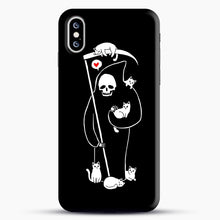 Load image into Gallery viewer, Death Is A Cat Person iPhone XS Max Case, Snap Case | Webluence.com