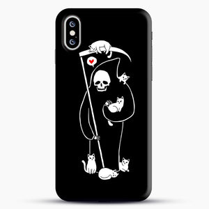 Death Is A Cat Person iPhone XS Max Case, Snap Case | Webluence.com