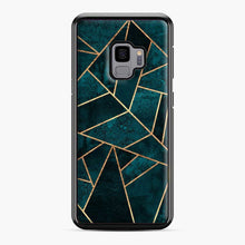Load image into Gallery viewer, Deep Teal Stone Samsung Galaxy S9 Case