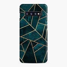 Load image into Gallery viewer, Deep Teal Stone Samsung Galaxy S10 Plus Case