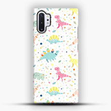 Load image into Gallery viewer, Dinosaur Pattern 1 Samsung Galaxy Note 10 Plus Case, Snap Case | Webluence.com