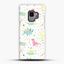 Load image into Gallery viewer, Dinosaur Pattern 1 Samsung Galaxy S9 Case, Snap Case | Webluence.com