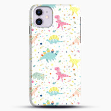 Load image into Gallery viewer, Dinosaur Pattern 1 iPhone 11 Case.jpg, Snap Case | Webluence.com