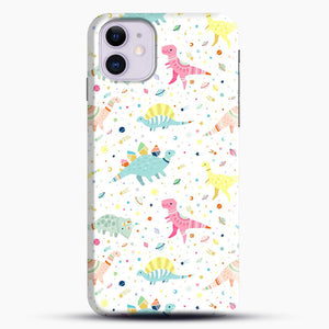 Dinosaur Pattern 1 iPhone 11 Case.jpg, Snap Case | Webluence.com