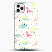 Load image into Gallery viewer, Dinosaur Pattern 1 iPhone 11 Pro Case, Snap Case | Webluence.com