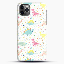 Load image into Gallery viewer, Dinosaur Pattern 1 iPhone 11 Pro Max Case.jpg, Snap Case | Webluence.com