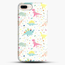 Load image into Gallery viewer, Dinosaur Pattern 1 iPhone 7 Plus/8 Plus Case, Snap Case | Webluence.com