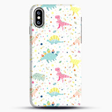 Load image into Gallery viewer, Dinosaur Pattern 1 iPhone XS Max Case, Snap Case | Webluence.com