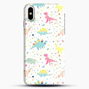 Dinosaur Pattern 1 iPhone X/XS Case, Snap Case | Webluence.com