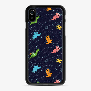 Dinosaurs In Space iPhone XR Case