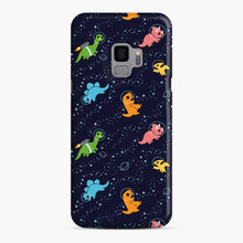 Load image into Gallery viewer, Dinosaurs In Space Samsung Galaxy S9 Case