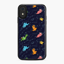 Load image into Gallery viewer, Dinosaurs In Space iPhone XR Case