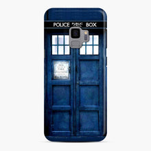 Load image into Gallery viewer, Doctor Who Tardis Blue Police Box Samsung Galaxy S9 Case