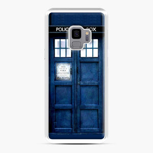 Doctor Who Tardis Blue Police Box Samsung Galaxy S9 Case