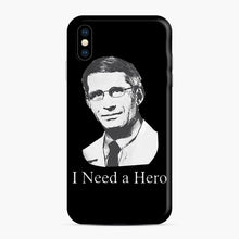 Load image into Gallery viewer, Dr Anthony Fauci Hope I Need A Hero iPhone XS Max Case, Snap Case | Webluence.com