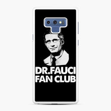 Load image into Gallery viewer, Dr Fauci Fan Club Officia Samsung Galaxy Note 9 Case, White Rubber Case | Webluence.com
