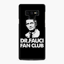 Load image into Gallery viewer, Dr Fauci Fan Club Officia Samsung Galaxy Note 9 Case, Black Rubber Case | Webluence.com